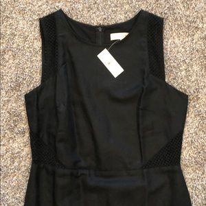 Black loft linen/cotton dress
